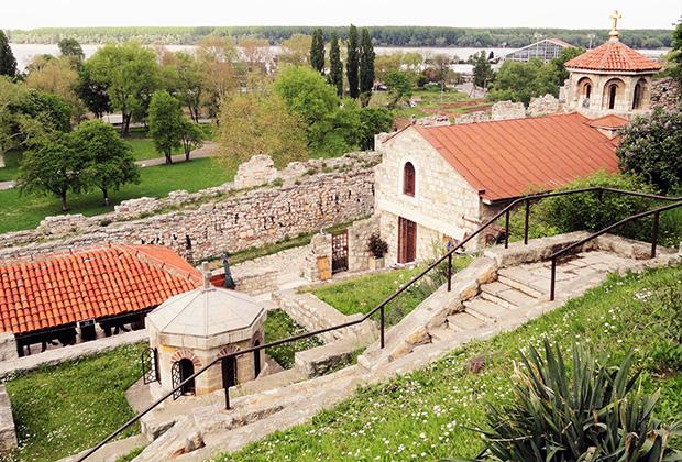 Развалины Белградской крепости напоминают о древней истории города