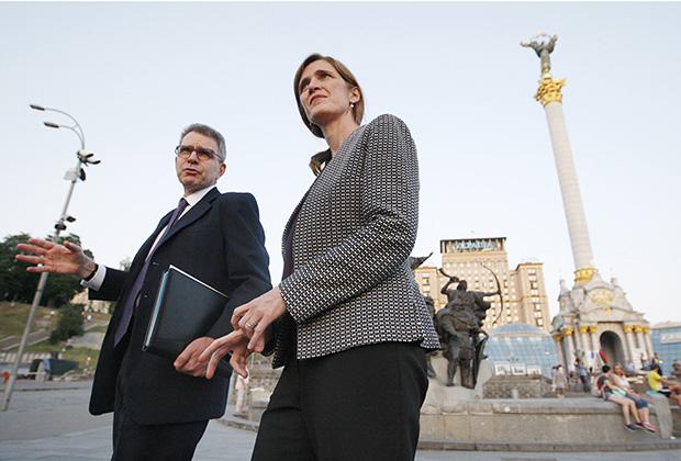 Джеффри Пайетт и Саманта Пауэр