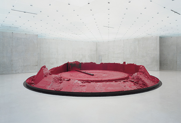 Аниш Капур, «My Red Homeland», 2003. Photo: Nic Tenwiggenhorn.