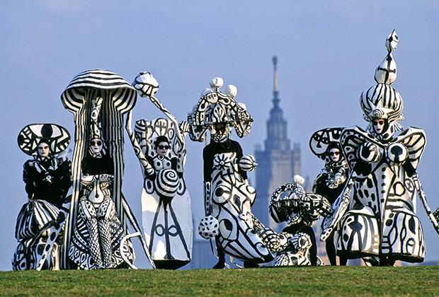 Андрей Бартенев, «Ботанический балет», 1992, Москва.