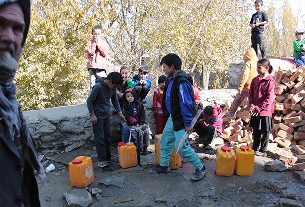 Афганские дети в Кабуле
