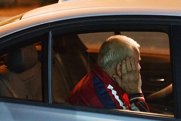 Владимир Мартыненко после освобождения из СИЗО