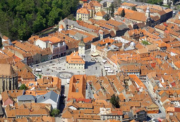 Брашов - старинный и необычайно уютный европейский городок