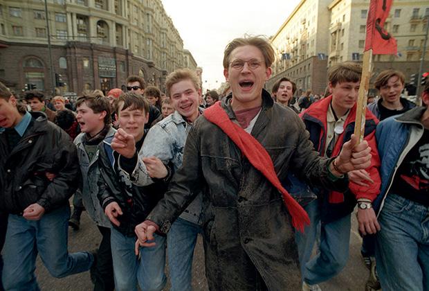Накануне Всероссийского референдума 1993 года