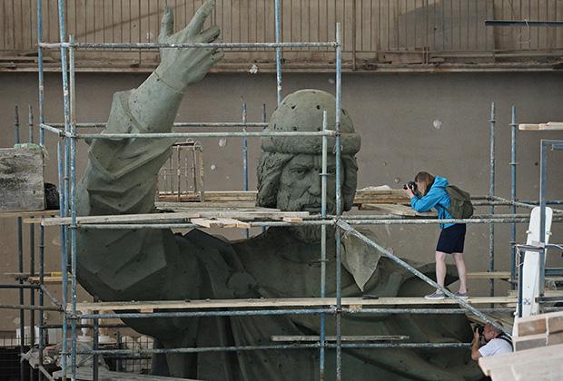 Модель памятника Великому князю Владимиру