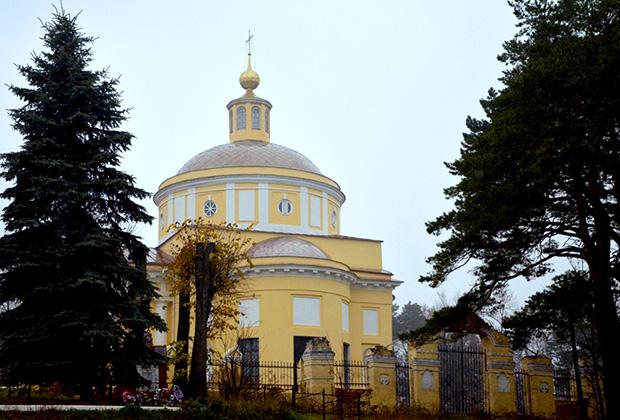 Усадьба Никольское-Гагарино, Храм Святителя Николая