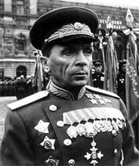 Генерал Павел Иванович Батов, награжденный орденом Британской империи (в центре снизу)