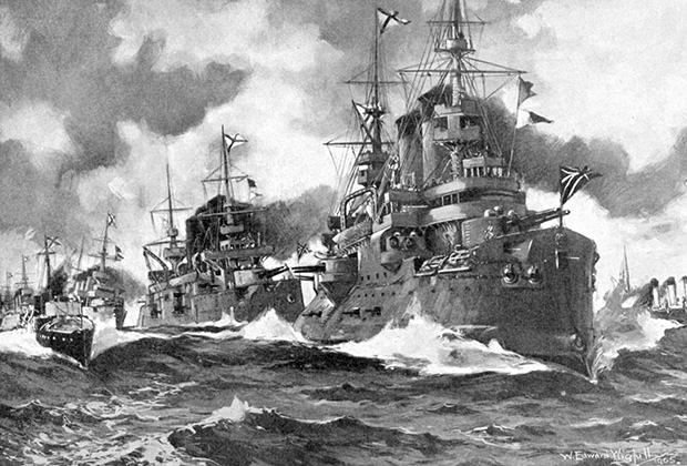 Флот Российской империи наступает, август 1904 года