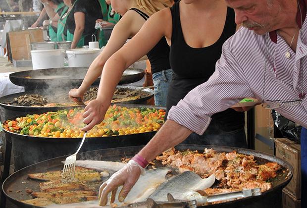 Фестиваль уличной еды в Хельсинки