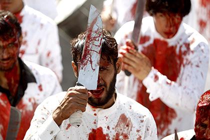 Траурная процессия шиитов