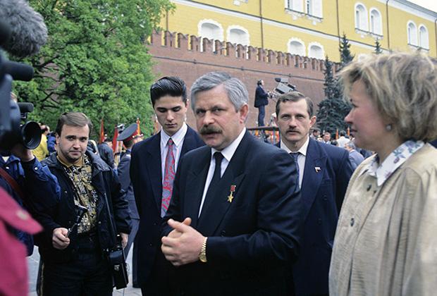 Вице-президент России Александр Руцкой, 1992 год