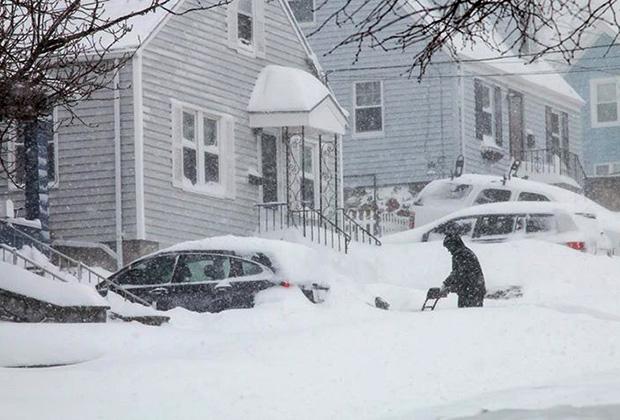 Массачусетские снегопады