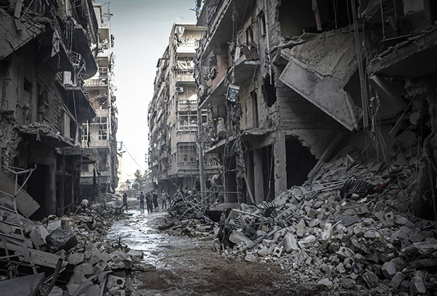«В Сирии жить легче, чем в России»