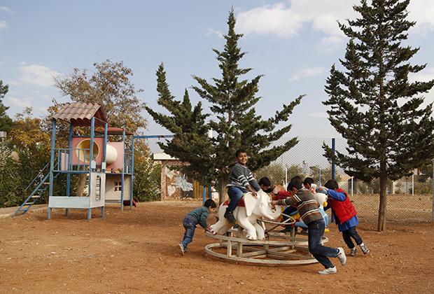 Пригород Дамаска, ноябрь 2014