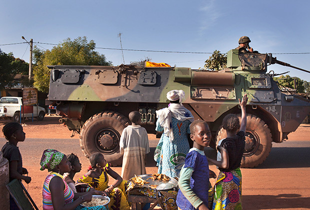 Французские военные в Мали. 17 января 2013