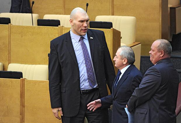 Николай Валуев на заседании Госдумы РФ