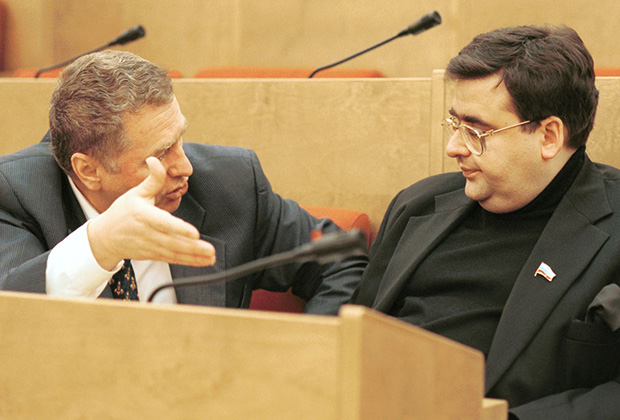 У Митрофанова была репутация «правой руки» Владимира Жириновского