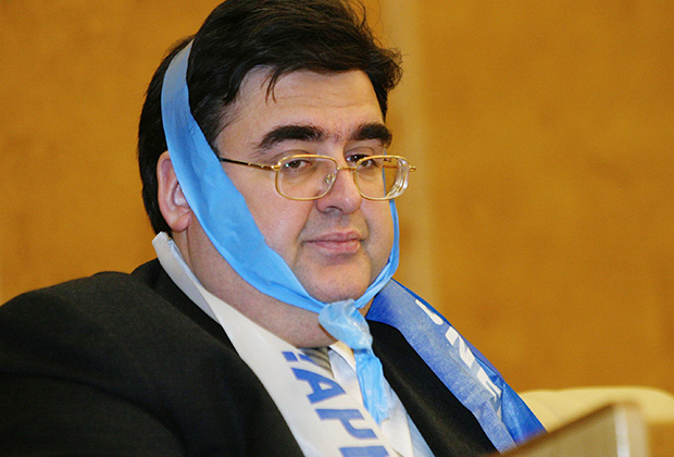 Алексей Митрофанов на заседании нижней палаты парламента