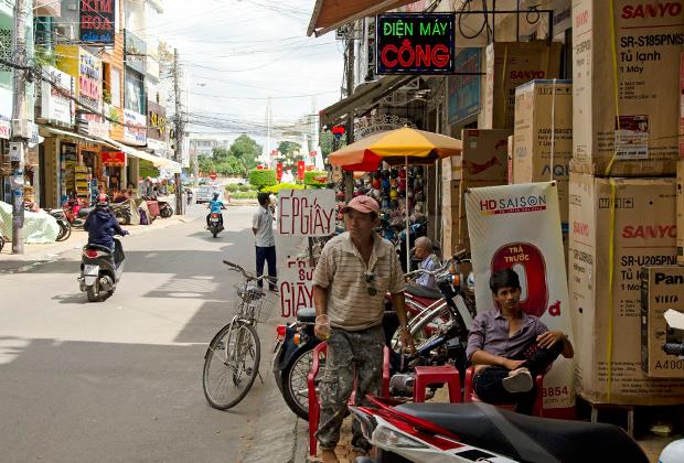 Мопеды — самый популярный вид транспорта в стране