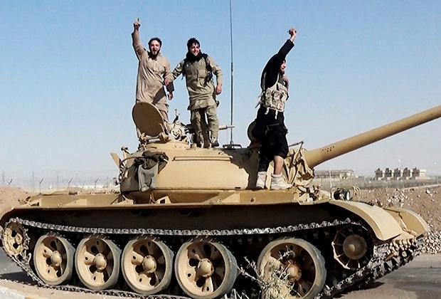 Боевики ИГ в Ираке