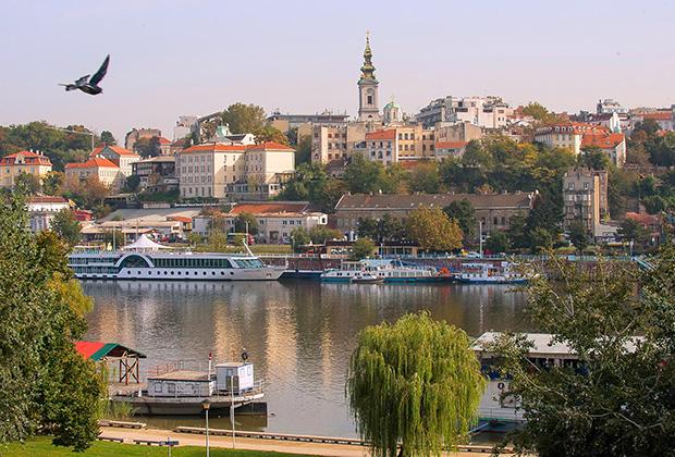 Дунай в Белграде коричневый, Сава еще грязнее. Сербы щедрые