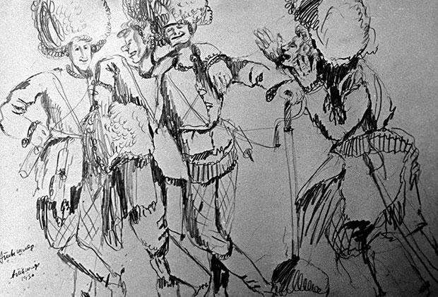 «Махновщина». Художник Александр Тышлер, 1930 год