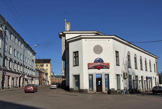 Улица в центре города Сортавала
