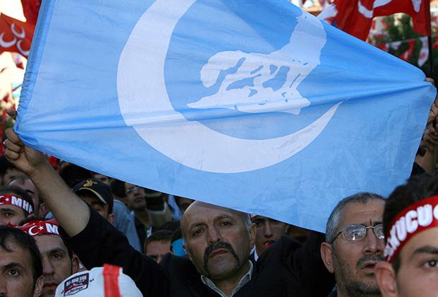 Знамя «Серых волков»