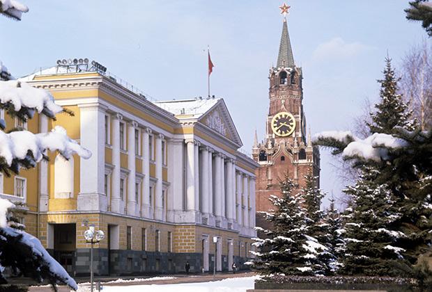 Здание Президиума Верховного Совета СССР. Административный корпус (14-й корпус) Кремля
