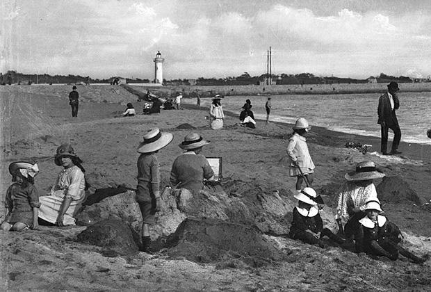 Лазурный берег в конце XIX века