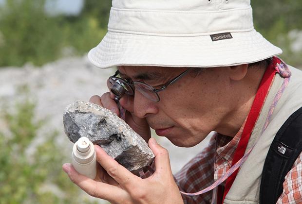 Палеонтологи и стратиграфы из России, Японии, Китая и Нигерии смогли ознакомиться с уникальными образцами коллекции Ивана Скуина, а также посмотрели горные выработки, древнейшие карбонатные постройки и ископаемых рифостроителей на карьере Шахтау.