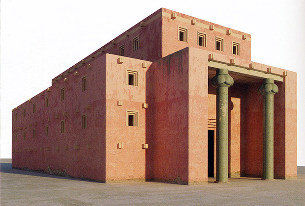 Итоговая реконструкция Храма Соломона