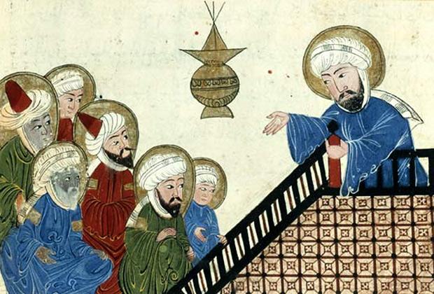 Пророк Мухаммед во время Прощального паломничества