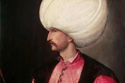Портрет Сулеймана Великолепного работы Тициана