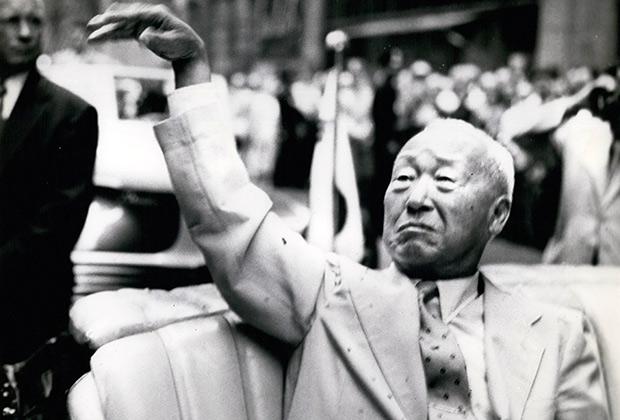 Президент Ли Сынман. 1959 год
