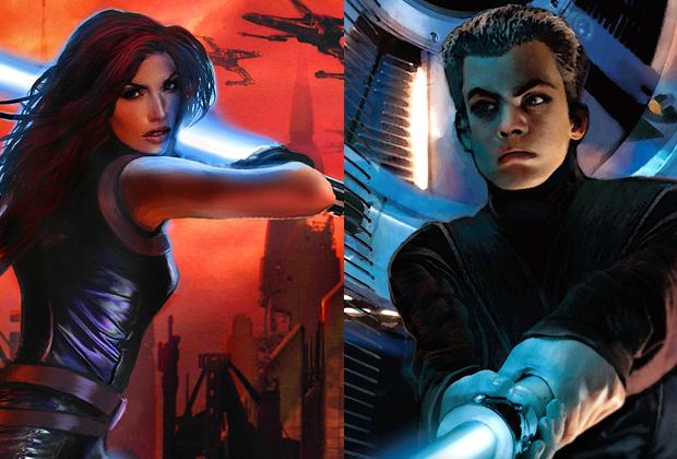 Мара Джейд— спутница жизни Люка Скайуокера, и Бен— их единственный сын.