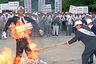 Антияпонский митинг в Сеуле. 1996 год