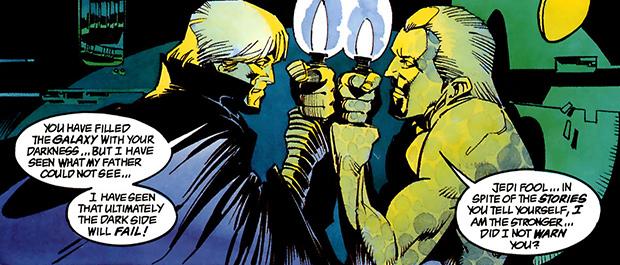 Вот по этой причине читать «Темную Империю» сложно — сможете с первого раза отличить Люка от возрожденного Императора?