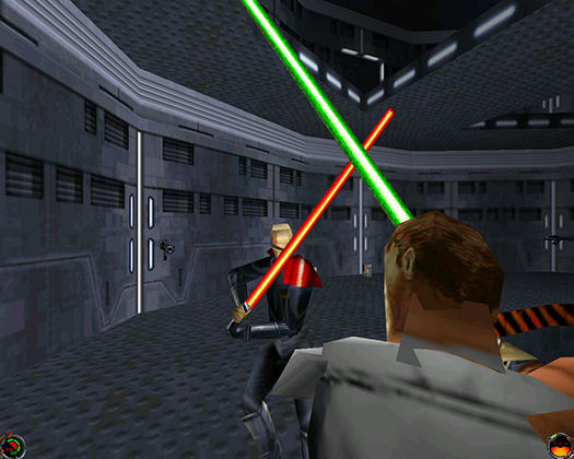 Одна из самых популярных серий видеоигр девяностых— Dark Forces— ввела в канон Кайла Катарна, в разное время имперского солдата, повстанца и джедая.