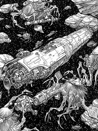 «Меч тьмы», «Галактическая пушка», «Разрушитель солнц»— кажется, в каждой второй книге 1990-х годов встречается как минимум одно супероружие.