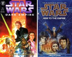 «Наследник Империи» — пожалуй, одна из самых значимых книг для Расширенной Вселенной. И обязательна к прочтению любому фанату Саги. А вот «Темную Империю» лучше пропустить. Несмотря на всю свою значимость для далекой-далекой галактики комикс сегодня совершенно нечитаем