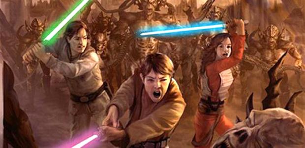 Дети Соло ведут борьбу с йуужань-вонгами.