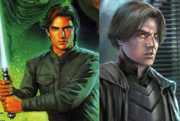 Джейсен Соло до и после. Разница, как говорится, налицо.