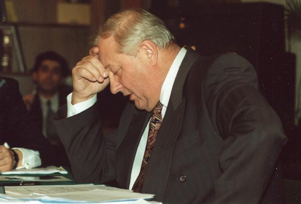 Россель Эдуард Эргартович, губернатор Свердловской области во время рабочих поездок и встреч