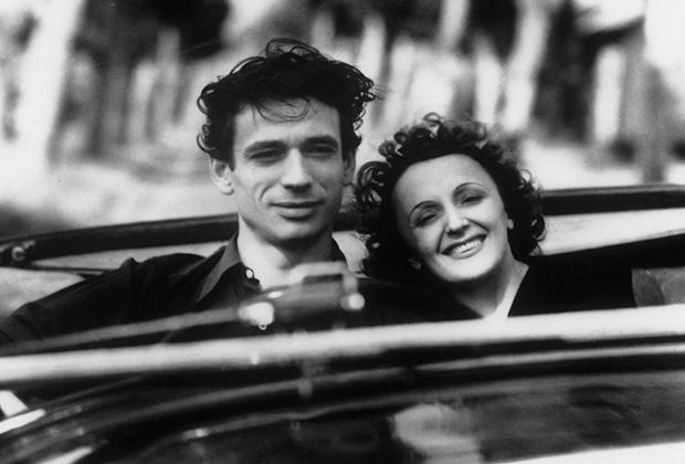 Эдит Пиаф и Ив Монтан, 1946 года