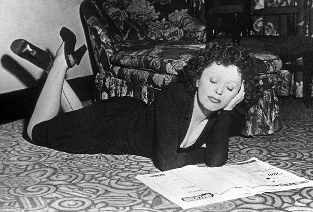 Эдит Пиаф, 1948 год