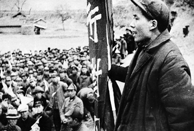 Мао Цзэдун, 1944 год