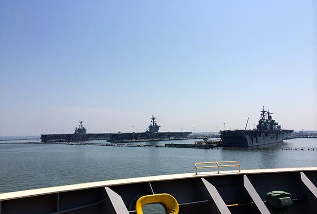 Норфолк. Военно-морская база США