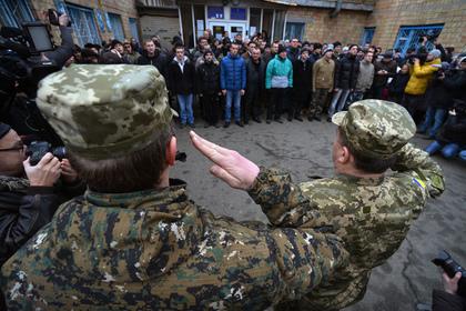 Призывники в Киеве