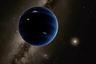 Девятая планета Солнечной системы в представлении художника